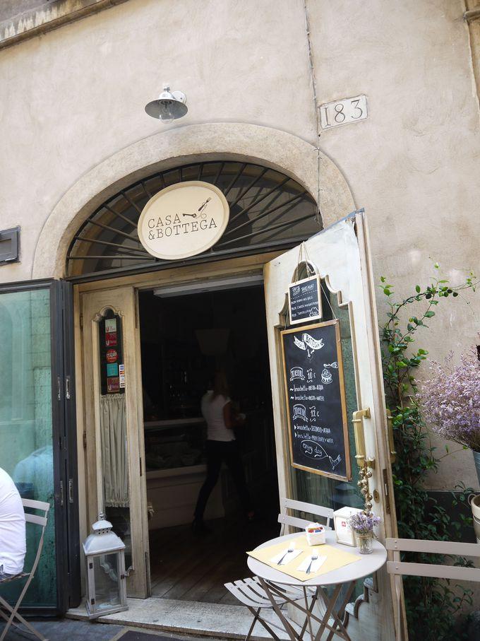 隠れ家的なオシャレレストラン「CASA & BOTTEGA」