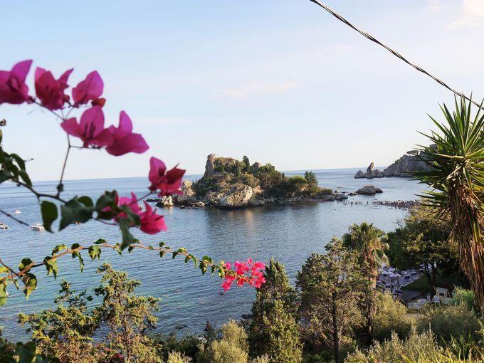 美しい小島「イソラ・ベッラ」