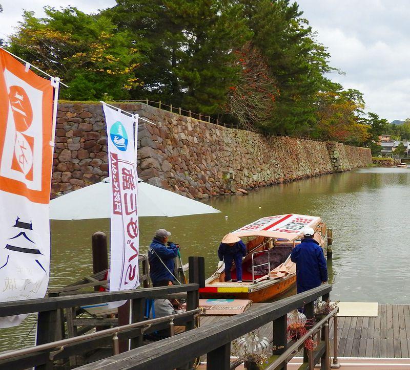 島根松江城の堀川めぐり遊覧船で自然と400年の歴史満喫!