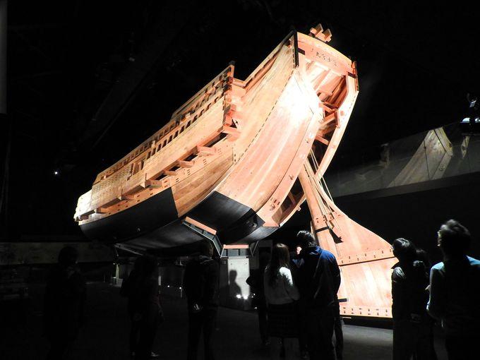 「風の回廊」で昔の半田をイメージし、「時の蔵」で江戸への大航海を体感!
