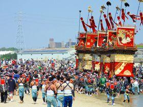 ユネスコ無形文化遺産登録!愛知・半田亀崎「潮干祭り」は豪快&華麗|愛知県|トラベルjp<たびねす>