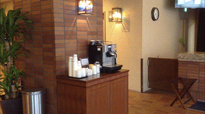 小樽観光の途中に戻ってきてコーヒーで一休み