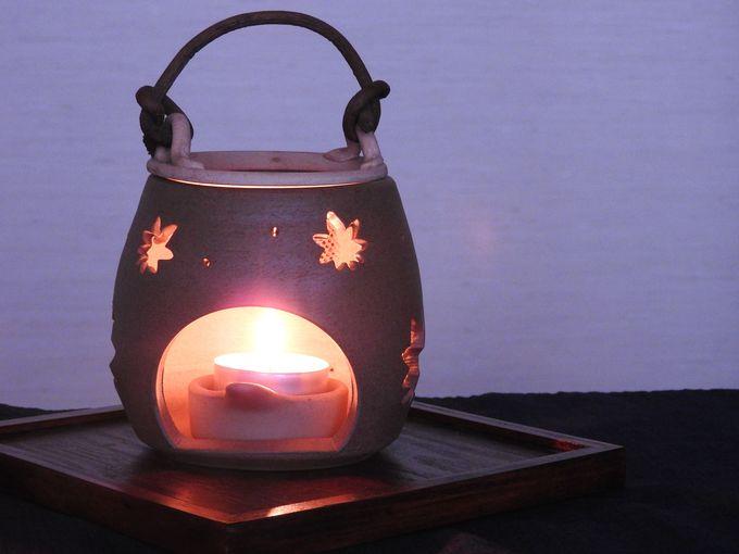 茶香炉のアロマテラピー
