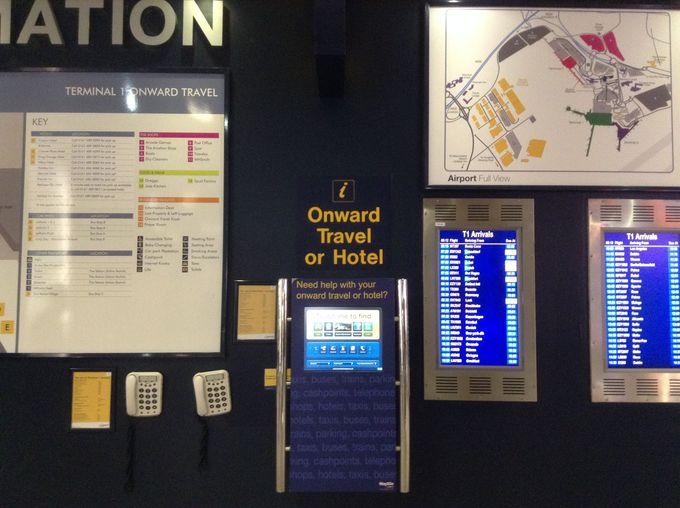 空港からの近さとアクセスの良さ