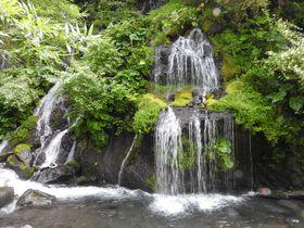 山梨・小淵沢ICから30分、吐竜の滝はマイナスイオン溢れる極上日本庭園!|山梨県|トラベルjp<たびねす>