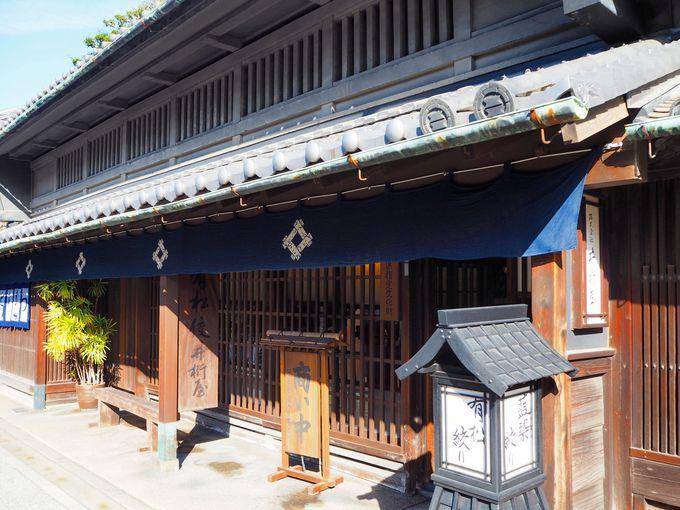 服部邸「井桁屋」で江戸時代にタイムスリップ!店内には驚きの・・・