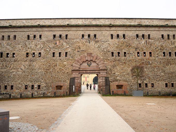要塞の街となったコブレンツ