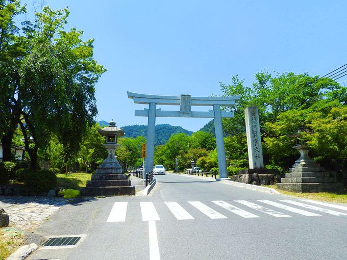 日吉馬場から琵琶湖の眺め