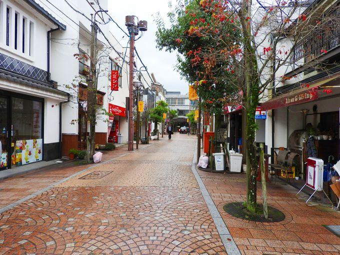 松江城からスタート