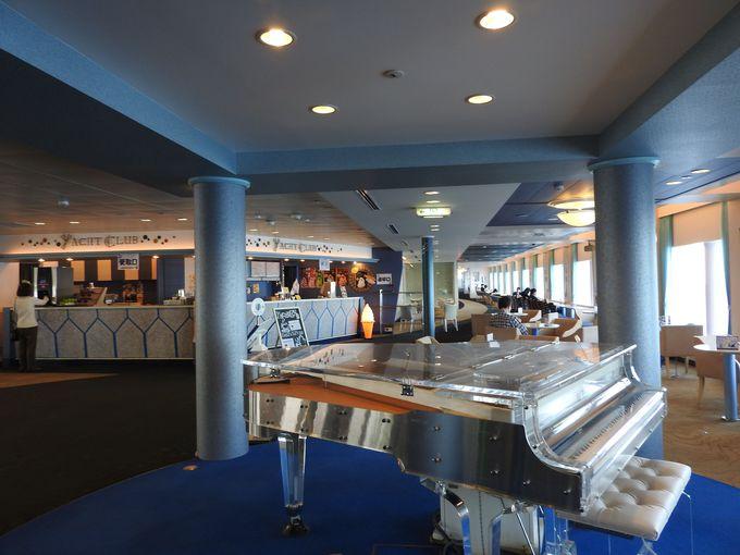 充実の設備はクルーズ船と見間違える寛ぎ空間、一人旅で更にメリットあり!