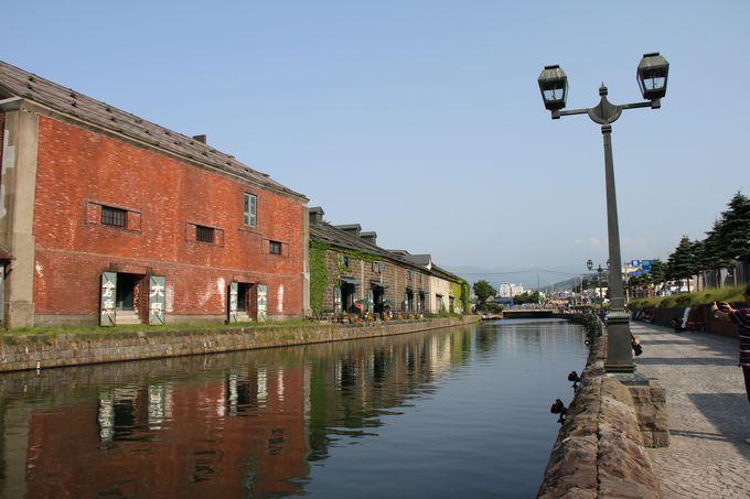 のんびり歩こう「小樽運河ふれあいの散歩道」