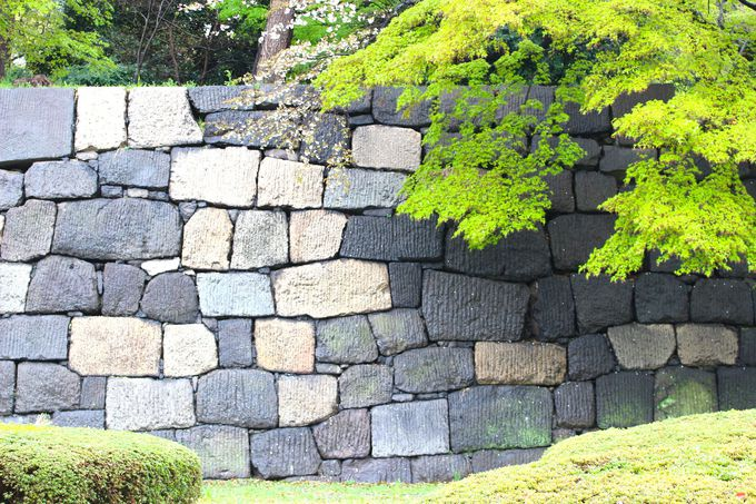 (1)石垣の「積み方」から見る