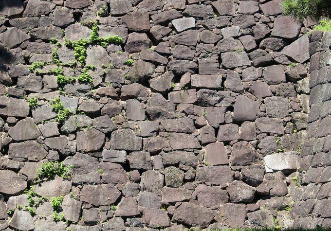 (2)石垣の「加工」から見る