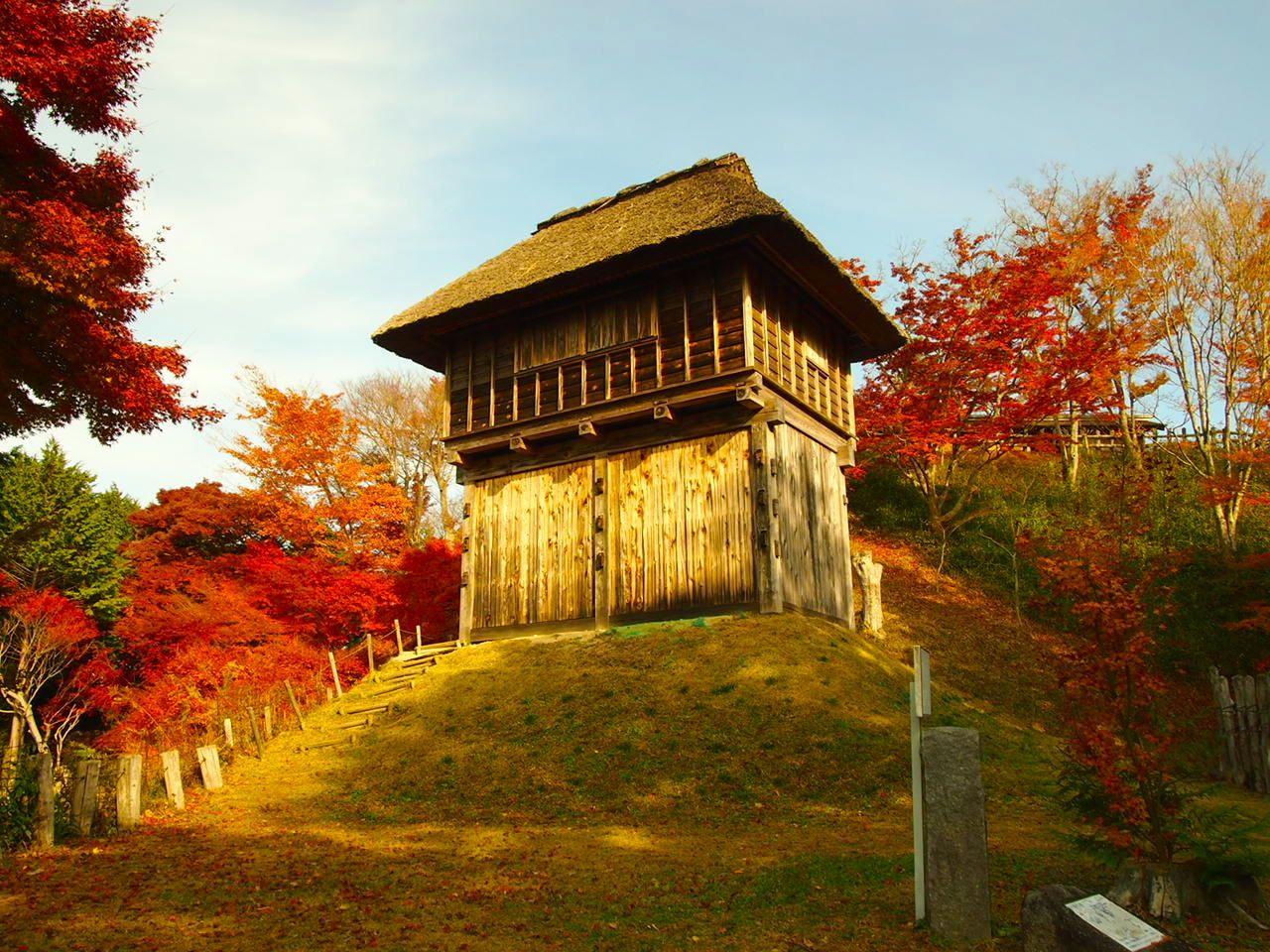 歴史と、美しい眺望を眺めよう