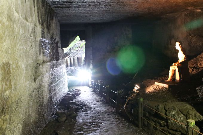 江戸城の石垣となった「伊豆石」