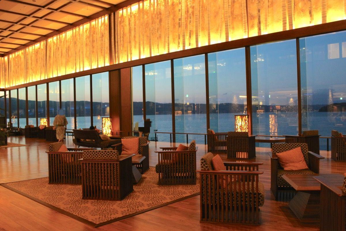 洞爺湖温泉最大級のリゾートホテル