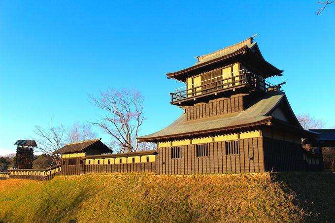 4.逆井城/茨城県