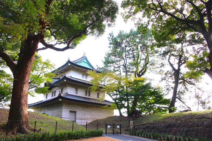 4.富士見櫓も近づける!