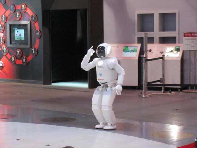 走る・踊る・ケンケンする!!ASIMO(アシモ)は常に進化中!