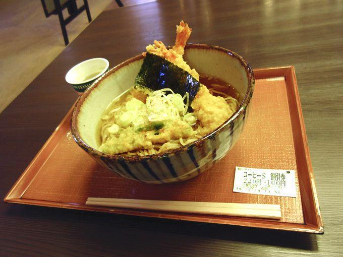 フードコートおすすめ2 軽めに食べたいなら「遠州製麺所」