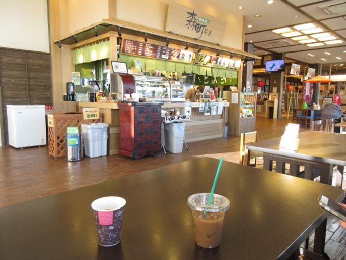 フードコートおすすめ3 甘味処「森町茶屋」コーヒーという選択肢も!