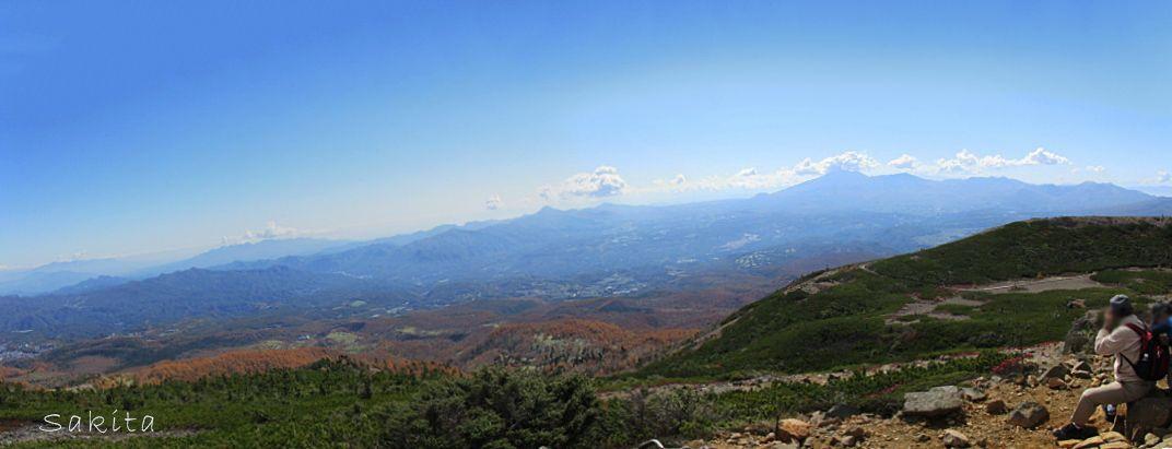 浅間山を望む大パノラマ!天候に恵まれれば富士山も