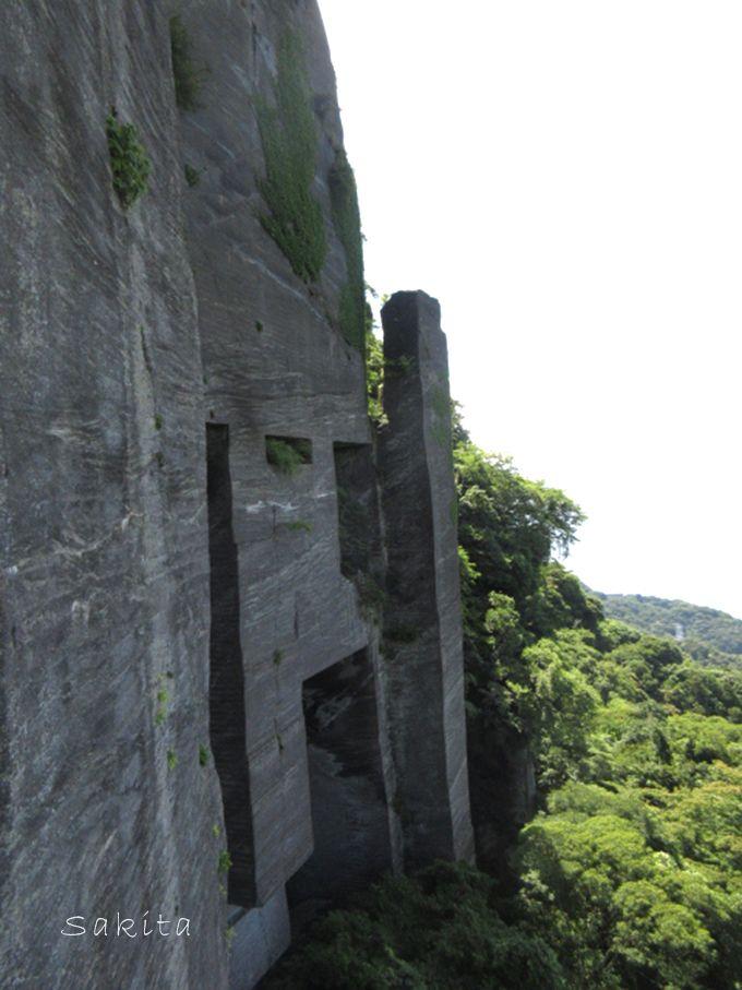 ラピュタの壁へのアクセス方法