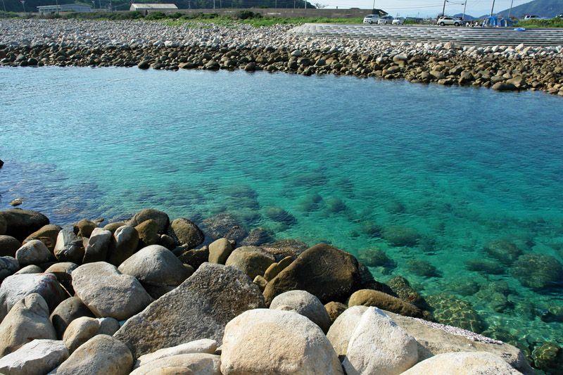 まるで源流の川!柏島の海の透明度