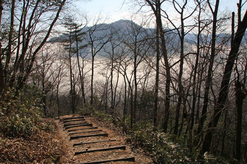 竹田城・駅裏登山道は安心で登りやすい道!
