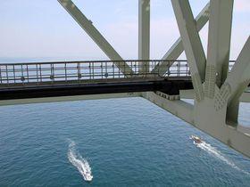 超スリリングに歩いて淡路島に渡ろう!「明石海峡大橋海上ウォーク」