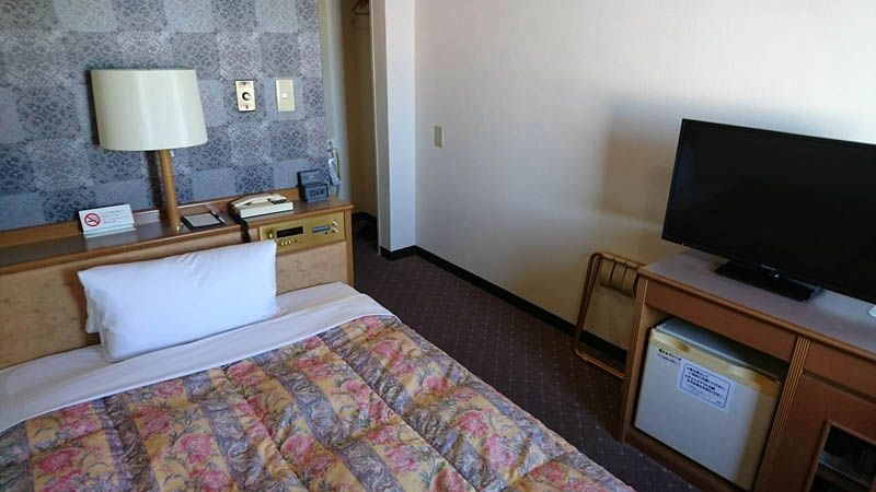 朝のカレーを楽しみに松阪シティホテルに快適に泊まる