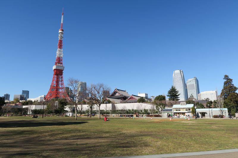 東京タワーは目の前!芝公園から最高の休日をスタートしよう