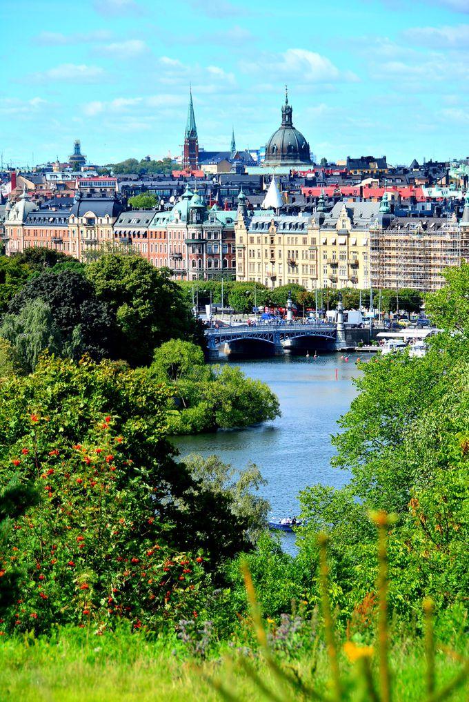 自然と寄り添う街を堪能!緑多き野外博物館「スカンセン」