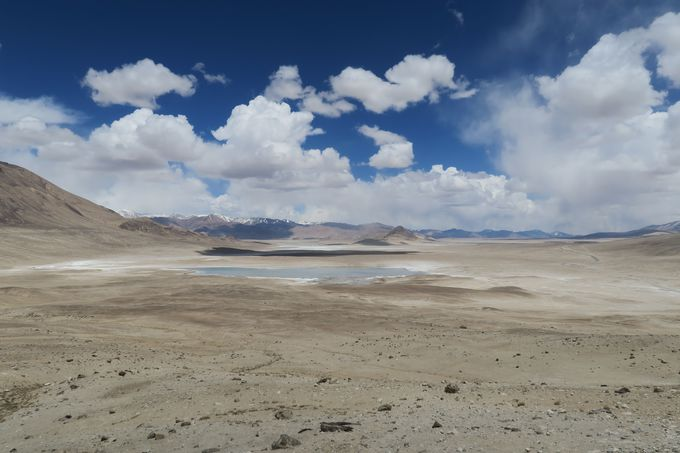 2つの塩湖