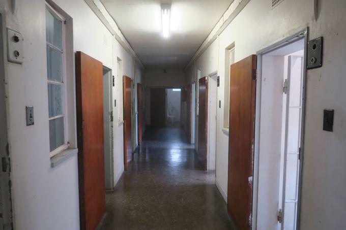 ネルソン・マンデラ元大統領も18年間収容されていた牢獄。