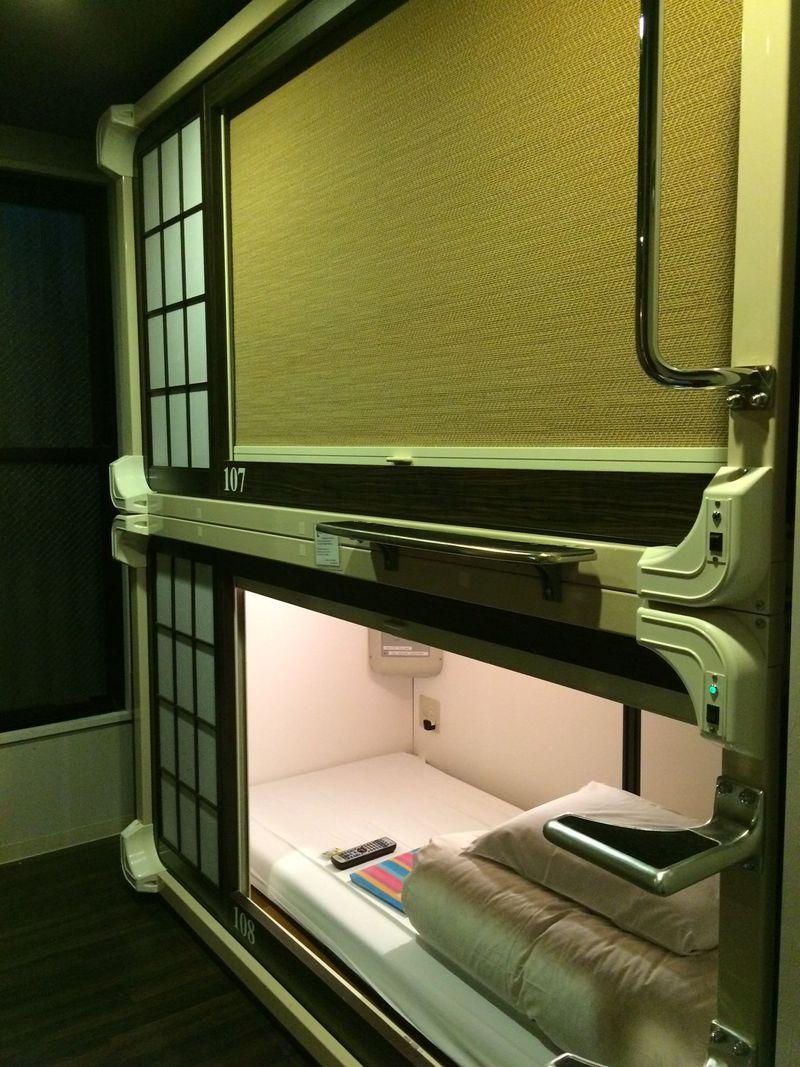 外国人に大人気!京都の和風カプセルホテル「カプセル旅館京都」で日本のおもてなしを体験