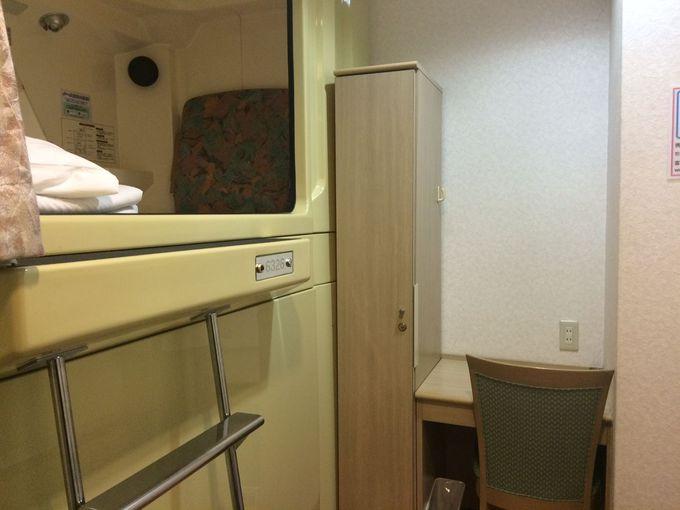 女性に朗報!こんなカプセルホテルが大阪・なんばに