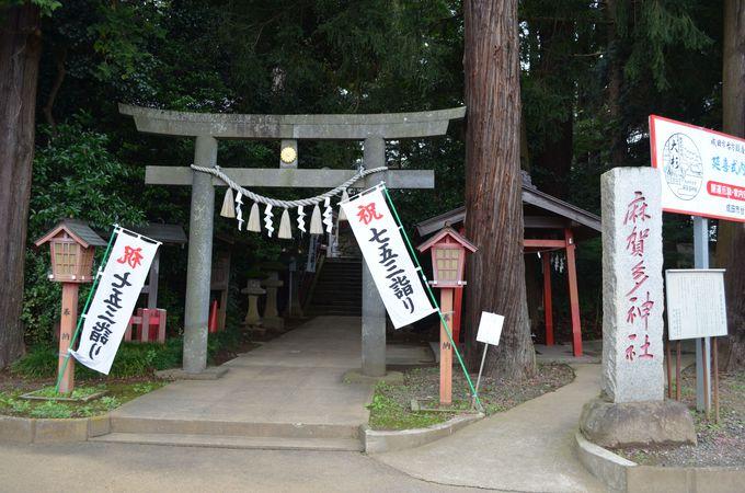 日本武尊の伝承も残る、歴史の古い神社