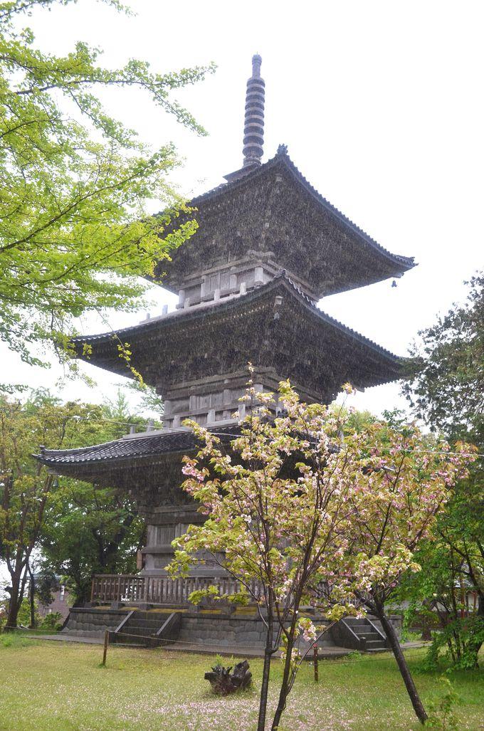 古い歴史の国分寺、地震や火災も経験