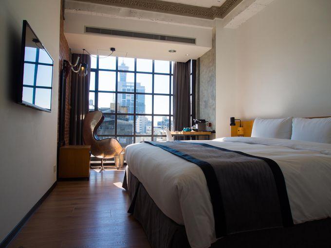 スタイリッシュなアーバンスタイルの客室