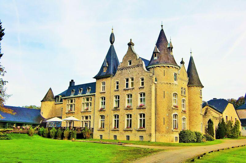 ルイ14世も愛した!ベルギー古城ホテル「シャトーダッソンヴィル」