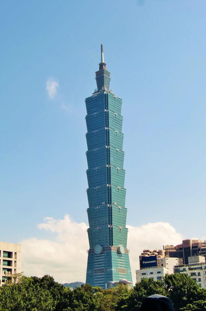 1日目・台北のランドマーク、台北101で台北の街一望
