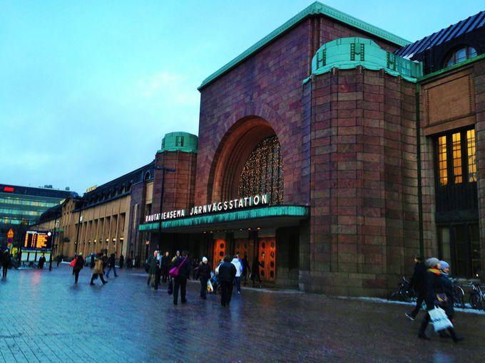 ヘルシンキ中央駅発着!その名も「サンタクロース・エキスプレス」
