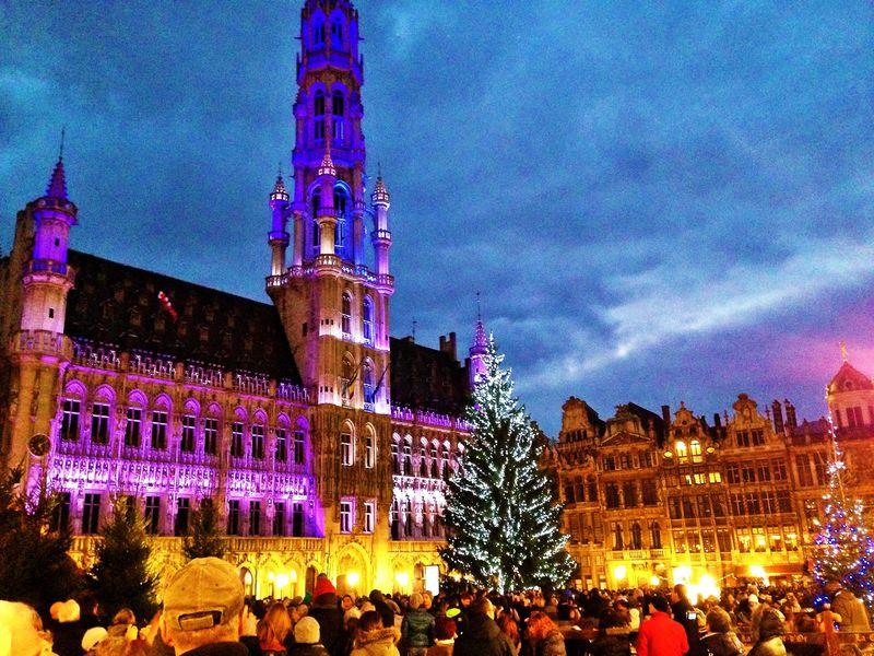 ブリュッセル最大のクリスマスイベント!ウィンターワンダーを体験しよう!