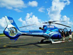 空から見るハワイ島!ヘリコプター・ブルーハワイアンで大自然を飛ぼう
