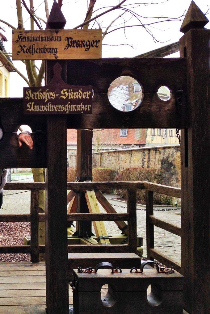 拷問器具も多数…不気味な中世犯罪博物館
