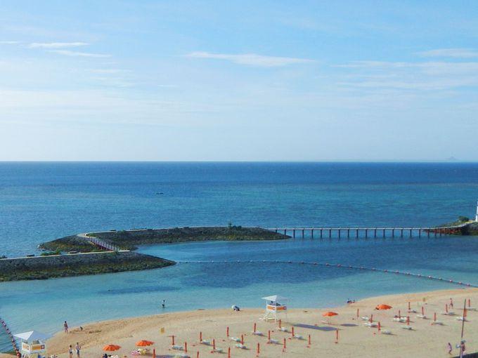 最高ランクの水質を誇るサンマリーナビーチ