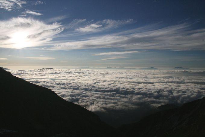 朝から感動!白馬の大雲海