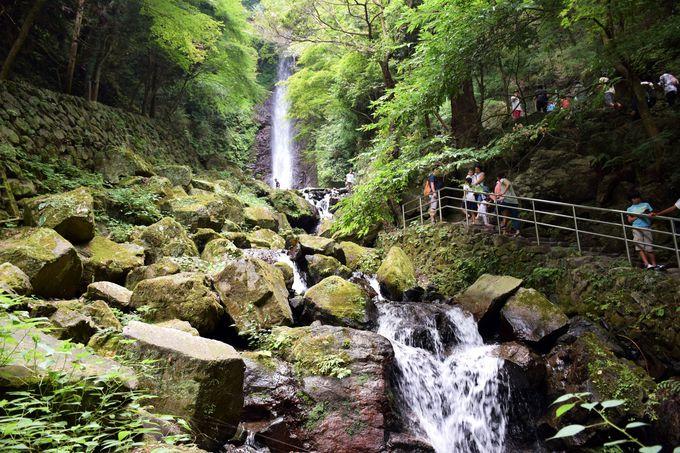 必見!日本の滝百選の「養老の滝」