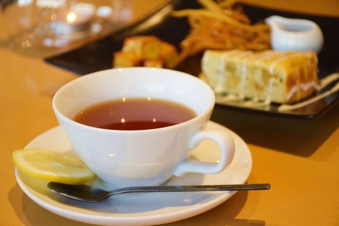 芋スイーツと紅茶の相性が抜群!「芋花恋」